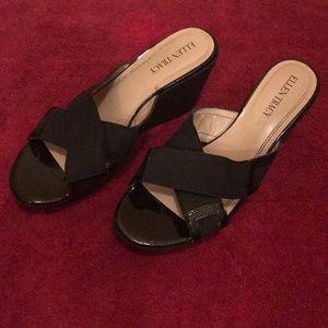 Ellen Tracy wedge Sandals